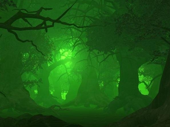 Green Fire Wallpaper Background Green Fire Ligh...