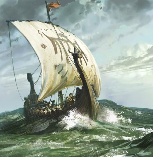 Captain Fire 197 | The Written WordViking Ship Storm