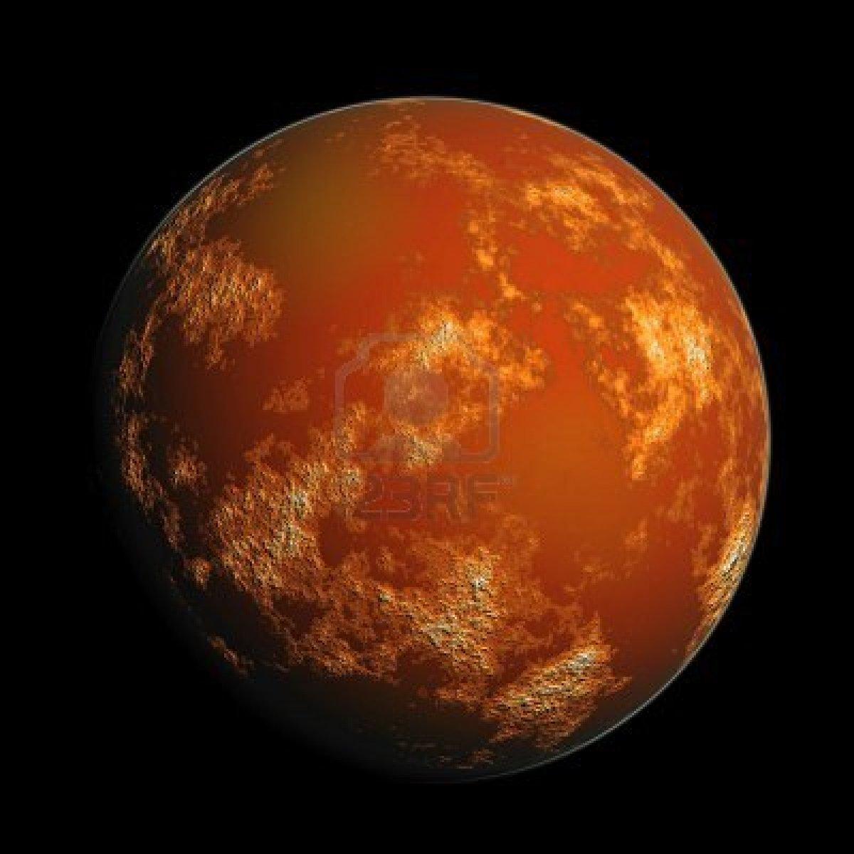 Planet Mars Drawing Easy