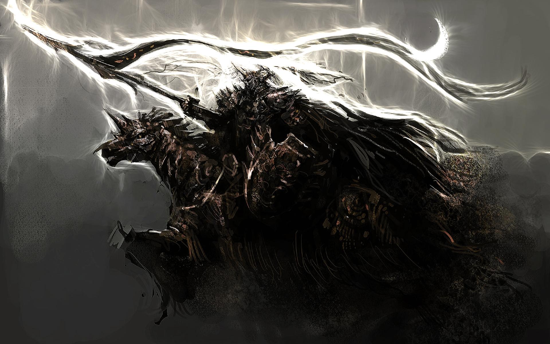 Must see Wallpaper Horse Nightmare - blackknight-169128  Picture_312933.jpeg