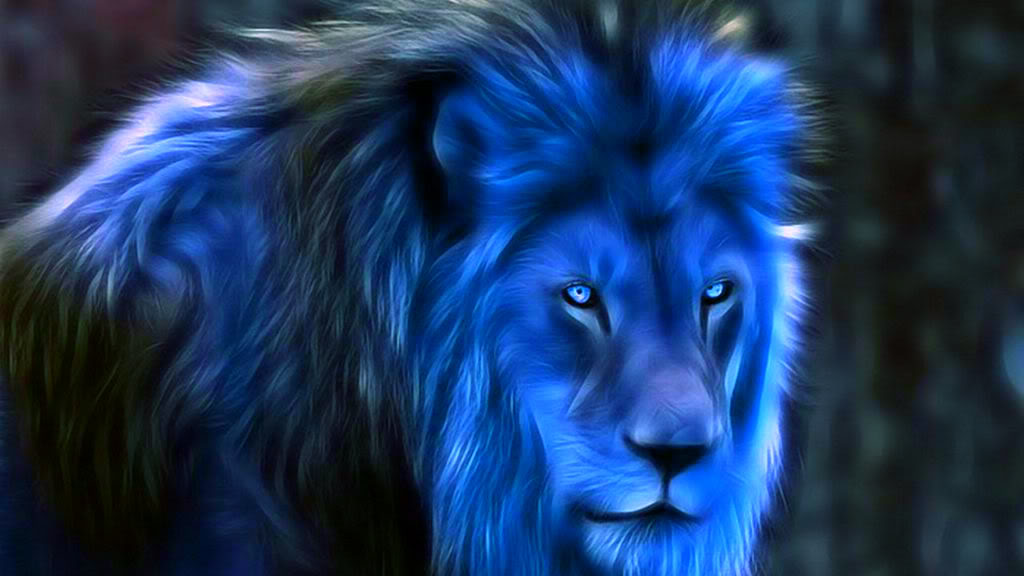 Blue lion wallpaper hd - photo#4
