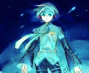 Blue Anime Boy 4