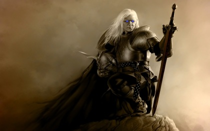 fantasy art armor artwork warriors white hair 1680x1050 wallpaper_www.miscellaneoushi.com_9 2