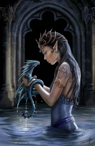 Dragon_and_girl__by_anne_stock_by_Nennvialelfenuit
