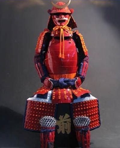 LP WJ Red Samurai Armour 2