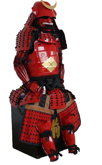 LP WJ Red Samurai Armour