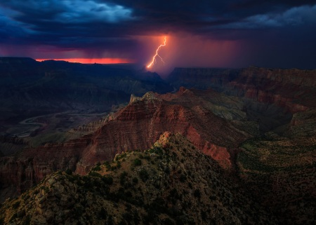 Grand-Canyon-Lightning-7909