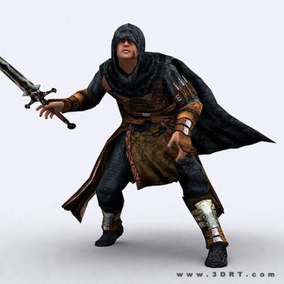 fantasy-thief-3d-model-low-poly-animated-rigged