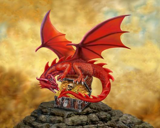 red-dragons-treasure-chest-glenn-holbrook