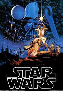 Star Wars Movie Poster 2